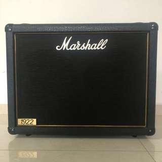 Marshall 2x12 1922 speaker cabinet