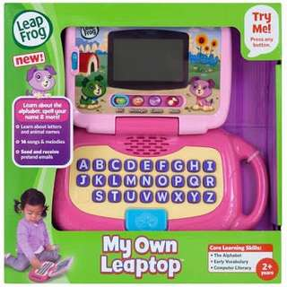 Leapfrog My Own Laptop Pink