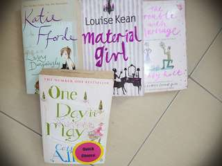 NOVELS FOR SALE (all for RM28)