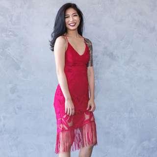 Naomi dress (red)