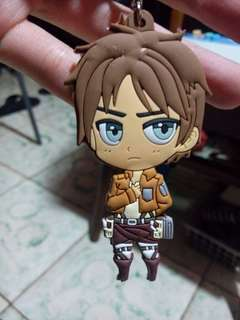 Attack on Titan Eren keychain