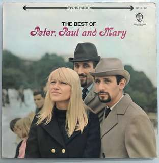 Peter Paul & Mary  Best of, vinyl