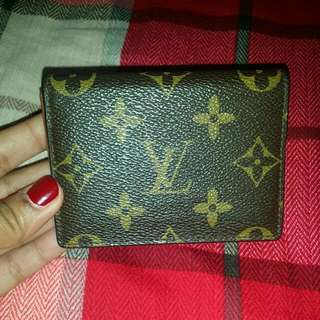 Authentic LV small wallet.