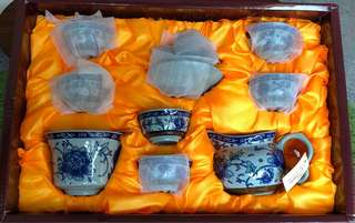 Traditional Chinese Tea Set - 10pc