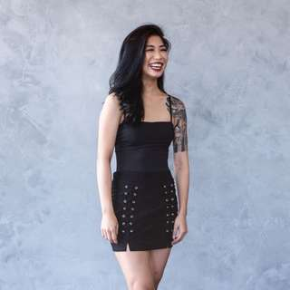 Alexa skirt (black)