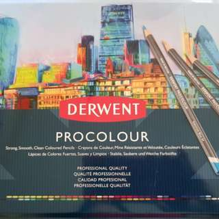 Derwent procolour 72 coloured pencils