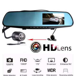 🎖Best Quality🎖 Dual Car camera S106 (front cam + rear cam)