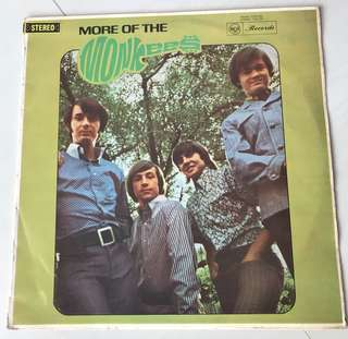 More of the Monkees , vinyl