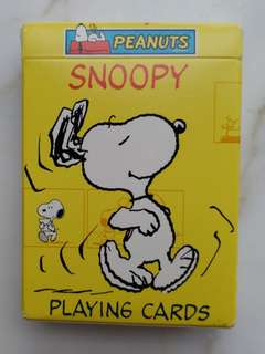 Peanuts Snoopy Playing Cards (史路比樸克牌)(美國印製)