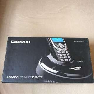 Daewoo Cordless Phone 家用無線電話 (APD-3100)