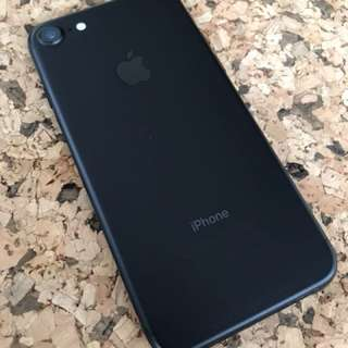 iPhone 7 256GB Black Matt