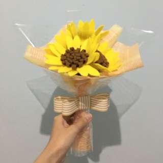 Pre-Order Handmade Flower / Fake Flower / Artificial Flower / Sunflower
