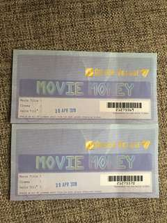 Golden Village GV voucher
