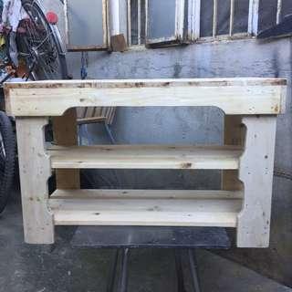 Table/Shoe Rack (Palo China)