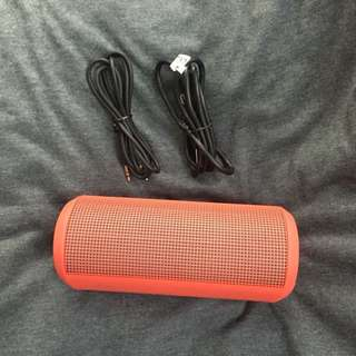 Original Bauhn speaker red