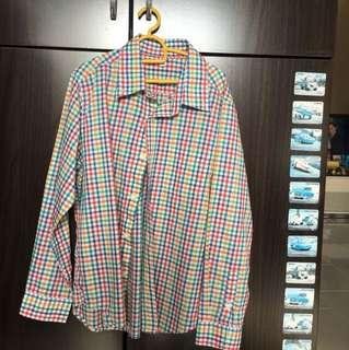 Uniqlo Long sleeve shirt for boys.
