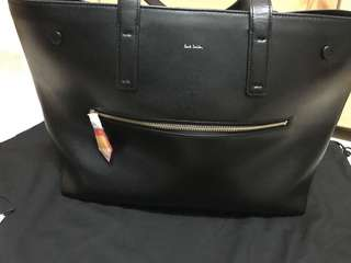 Paul Smith double strap large tote