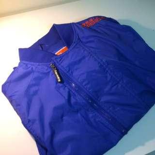 Superdry極度乾燥 外套 風衣 防風 防水 雙層拉鍊設計
