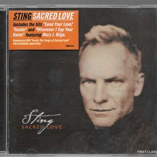 MY PRELOVED CD - STING - SACRED LOVE  /FREE DELIVERY (F3X)