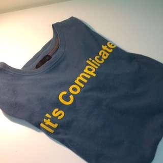 潮牌 50% 型男短版T-shirt