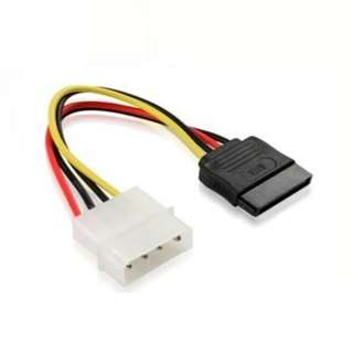 Molex 4 Pins Male to SATA Female Cable