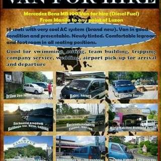 Very Cheap Van for Rent