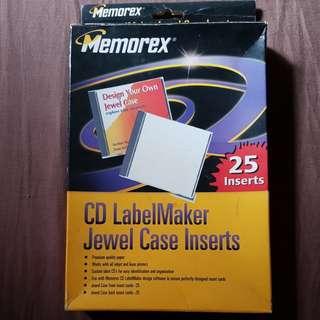 CD Labelmaker - Memorex