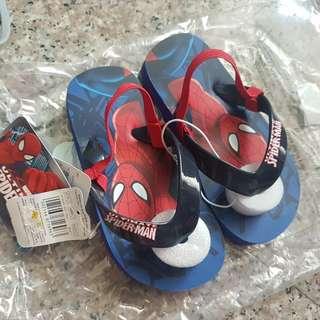 BNWT Mothercare Spiderman Kids Sandals