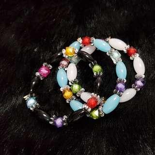 GARAGE SALE bracelet bundle of 3