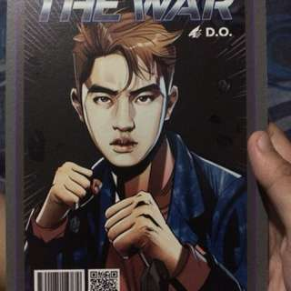 EXO - The War Chen and D.O. Postcard