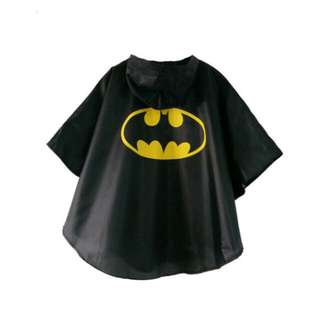 Superhero Kids Raincoat - Batman