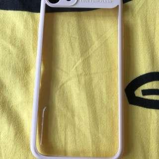 IPHONE 7 粉紅透明軟保護套