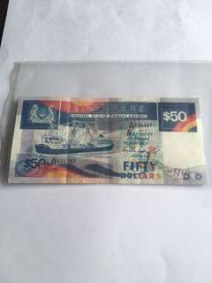 Spore Ship Series $50 Banknote