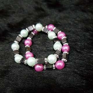 GARAGE SALE bracelet bundle of 2