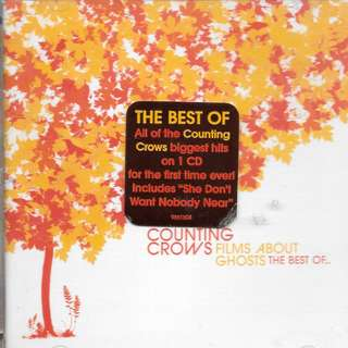 MY PRELOVED CD - COUNTING CROWS - THE BEST OF  /FREE DELIVERY (F3X)