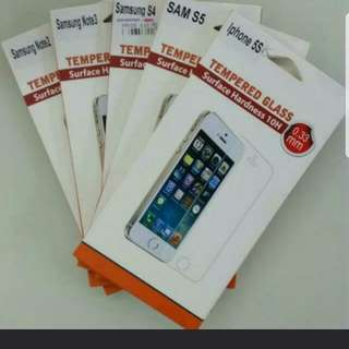 Premium Assorted Tempered Glass Screen Protector