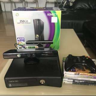 Xbox 360 With Kinect (250Gb)