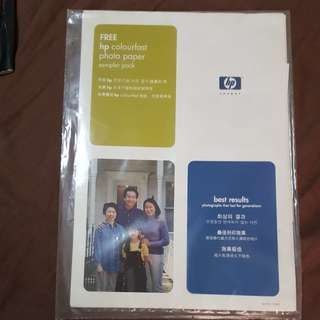 HP Colourfast Photo Paper