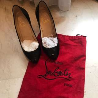 Christian Louboutin Black Patent Authentic