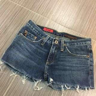 AG Denim Shorts 24 Inches