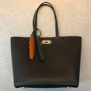 CHARLES & KEITH turn lock tote bag