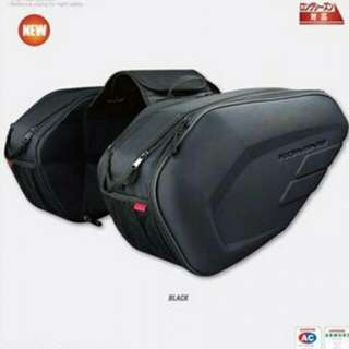 Available Now! Not pre-order SCAMS komine saddle bag brand new motorbike motorcycle