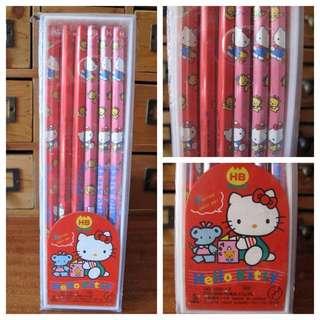 絕版1989 Hello Kitty Sanrio 盒裝鉛筆