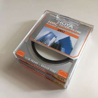 Hoya HMC 58mm UV Filter & Rokinon 46mm skylight filter