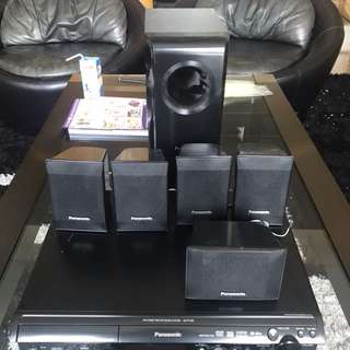 Panasonic sound system with dvd player