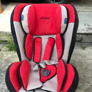 Car Seat HALFORD PREMIUM ZEUS PLUS preloved