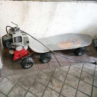 機動 滑板