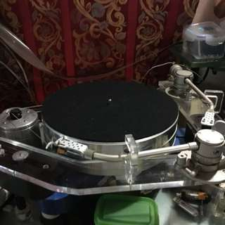 Local made high end turntable.