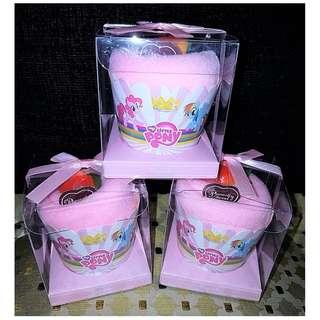 Little Pony Cupcake Towel