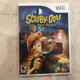 Scooby-Doo Wii game